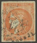 Frankrig - YT 48 - Stemplet