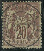 Frankrig - YT 67 - Stemplet