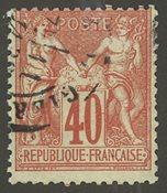 Frankrig - YT 70 - Stemplet