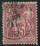 Frankrig - YT 71 - Stemplet
