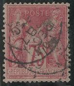 Frankrig - YT 81 - Stemplet