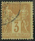 Frankrig - YT 86 - Stemplet