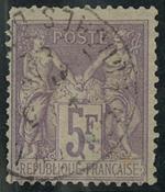 Frankrig - YT 95 - Stemplet