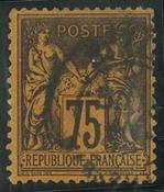 Frankrig - YT 99 - Stemplet