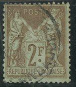 Frankrig - YT 105 - Stemplet
