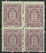 Danmark - Tjeneste - 1875