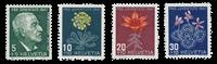 Suisse 1947 - Michel 488/91 - Neuf avec charnière