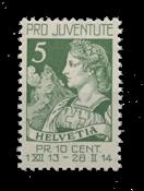 Suisse 1913 - Michel 117 - Neuf