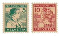 Schweiz 1915 - Michel 128/29 - Postfrisk