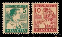 Suisse 1915 - Michel 128/29 - Neuf