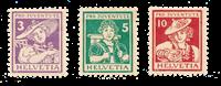 Suisse 1916 - Michel 130/32 - Neuf