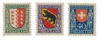 Schweiz 1921 - Michel 172-74 - Postfrisk