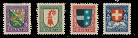 Schweiz 1926 - Michel 218/21 - Postfris