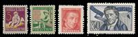 Schweiz 1927 - Michel 222/25 - Postfris