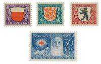 Suisse 1928 - Michel 229/32 - Neuf