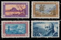 Schweiz 1929 - Michel 235/38 - Postfrisk