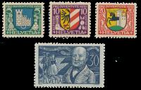 Schweiz 1930 - Michel 241/44 - Postfrisk
