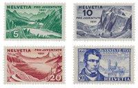 Schweiz 1931 - Michel 246/49 - Postfrisk