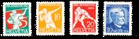Schweiz 1932 - Michel 262/65 - Postfrisk