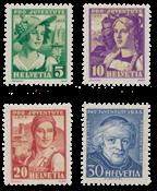 Schweiz 1933 - Michel 266/69 - Postfrisk