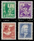 Suisse 1934 - Michel 281/84 - Neuf