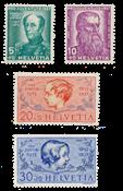 Suisse 1937 - Michel 314/17 - Neuf