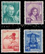 Suisse 1938 - Michel 331/34 - Neuf