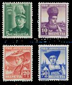 Suisse 1939 - Michel 359/62 - Neuf