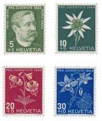 Suisse 1944 - Michel 439/42 - Neuf