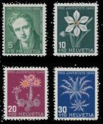 Suisse 1946 - Michel 475/78 - Neuf