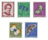 Schweiz 1951 - Michel 561/65 - Postfrisk