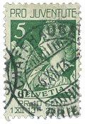 Schweiz 1913 - Michel 117 - Stemplet