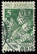 Suisse 1913 - Michel 117 - Oblitéré