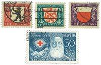 Schweiz 1928 - Michel 229/32 - Stemplet