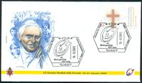 Vatican - 8 enveloppes - Les voyages du Pape