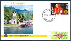 Vatikanet - 5 kuverter - Pavens rejser