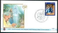 Vatikanet - 4 kuverter - Pavens rejser