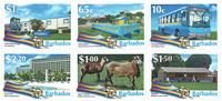 Barbados - Independence 50 years - Mint set 6v