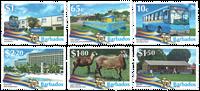 Barbades - Cinquantenaire de l'Indépendence - Série neuve 6v