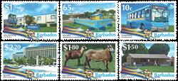 Barbados - 50 år med uafhængighed - Postfrisk sæt 6v