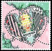 Frankrig - Balmain hjerte - Postfrisk frimærke