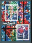 Frankrig - Mark Chagall - Postfrisk miniark