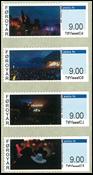Færøerne - Frankeringsmærker 2016 - Postfrisk sæt 4v