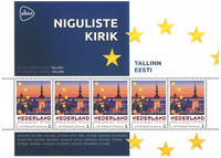 Netherlands - Capitals in Europe, Estonia Tallinn - Mint souvenir sheet
