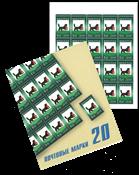 Rusland - Irkutsk våbenskjold - Postfrisk hæfte med 20 mærker