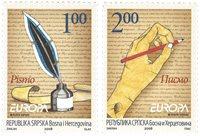 Serbien - Europa 2008 - Postfrisk sæt 2v