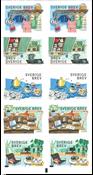 Sverige - Retro - Postfrisk hæfte