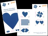 Finland - Blåt hjerte - Postfrisk hæfte