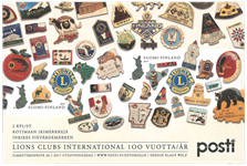 Finland - Lions International - Postfrisk miniark