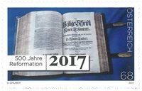 奥地利邮票 2017 欧洲宗教改革500年 单枚 外国邮票 邮票收藏